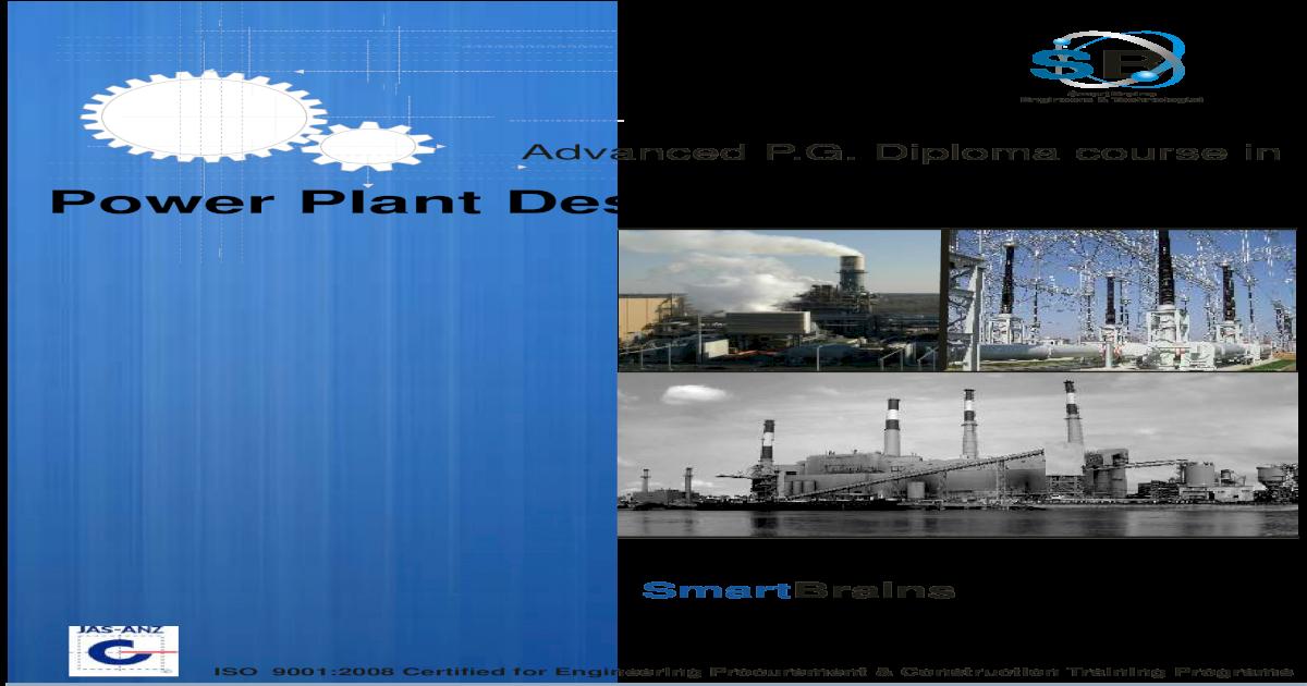 Pg Power Plant Design Engineering Pg Diploma Pdf Document