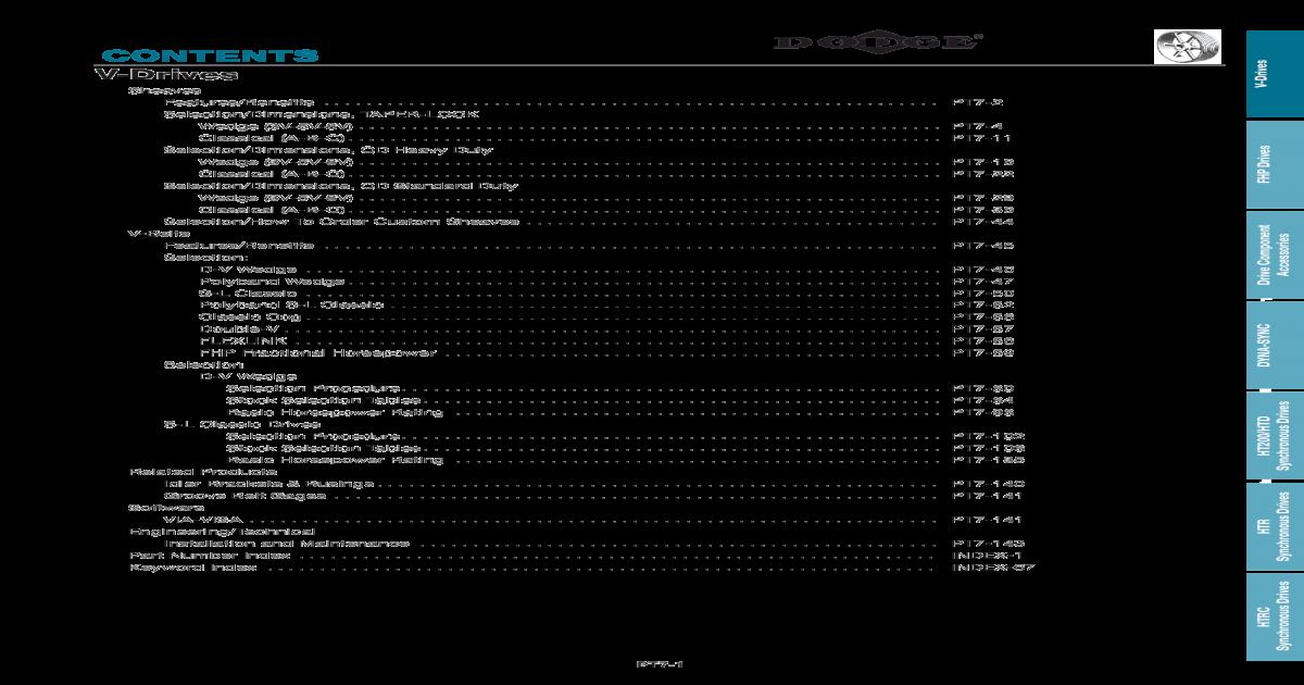DODGE 6-8V16.00-J SHEAVE 455448
