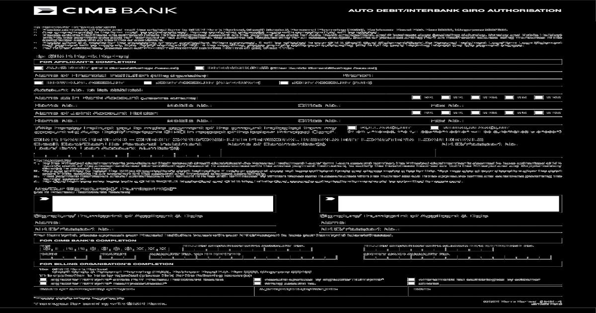 Interbank Giro Individual Account Cimb Debit Cimb Current Savings Account Interbank Giro Other Cimb Bank Berhad Credit Card Cashlite Personal Instalment Loan Term Pdf Document