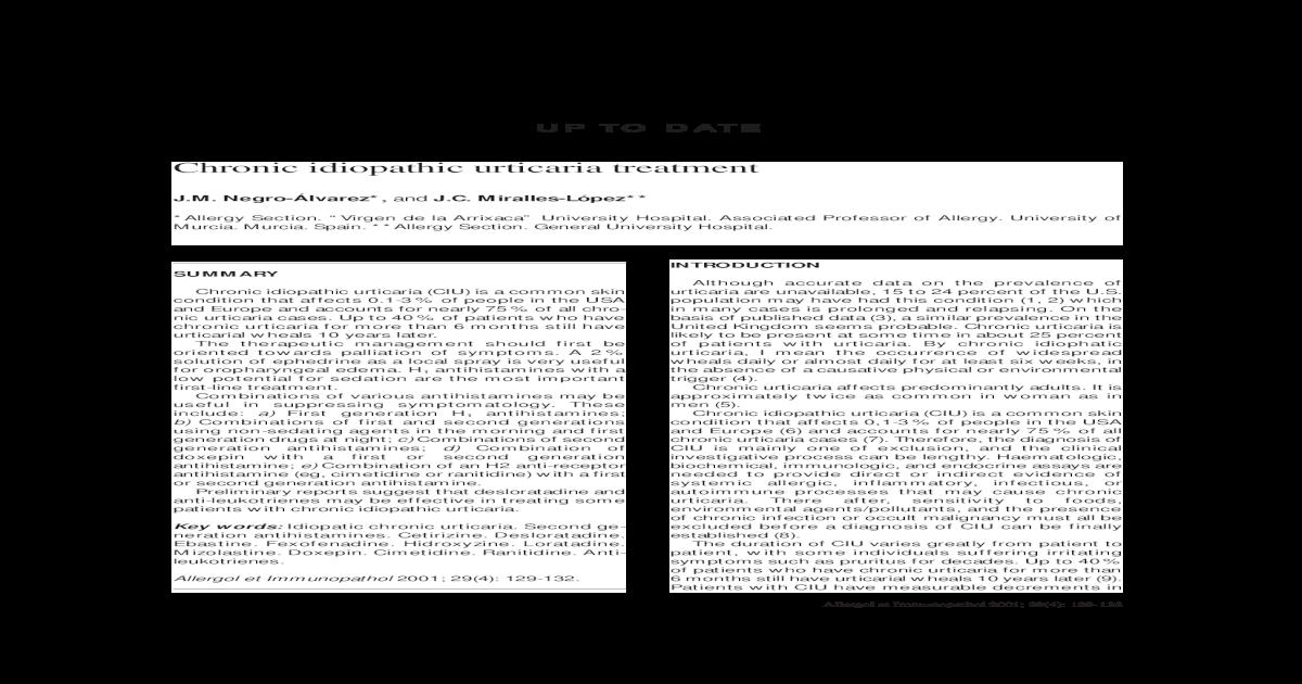 urticaria crónica pdf