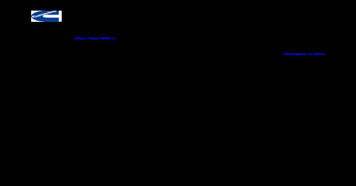 Diagramas Electricos De Motores Cummins M11 Pdf