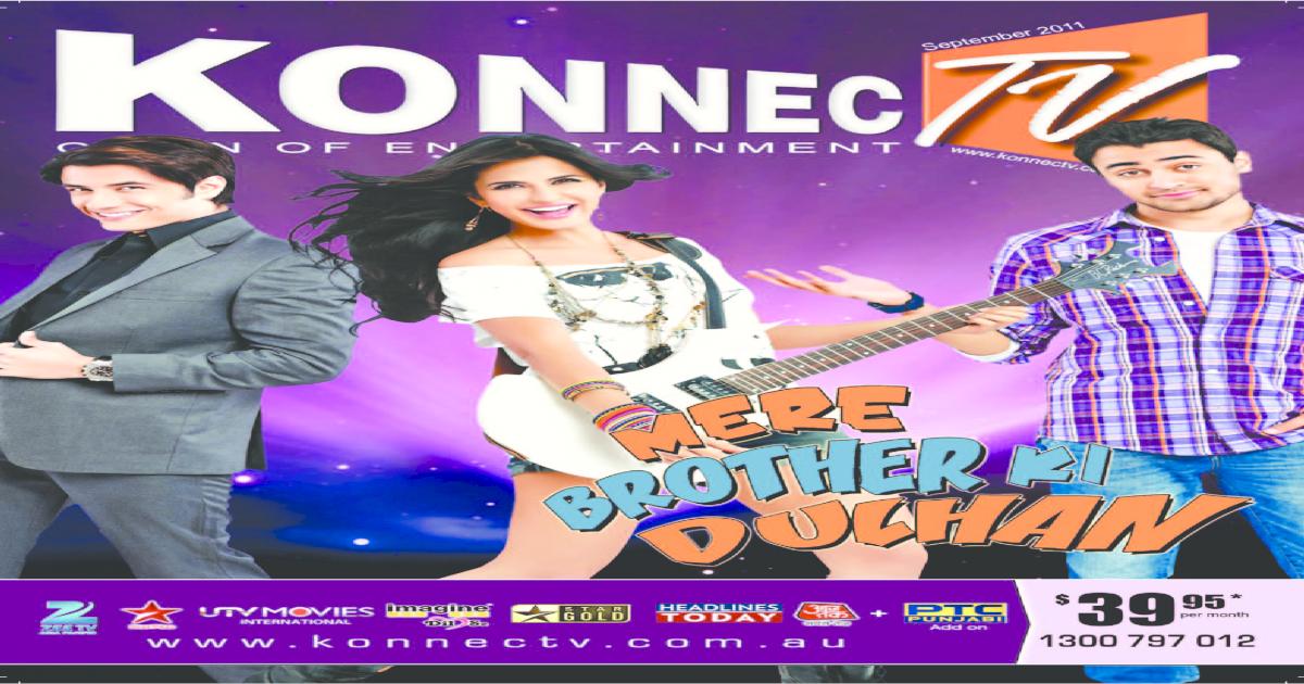 Konnectv September 2011 E-magazine - [PDF Document]