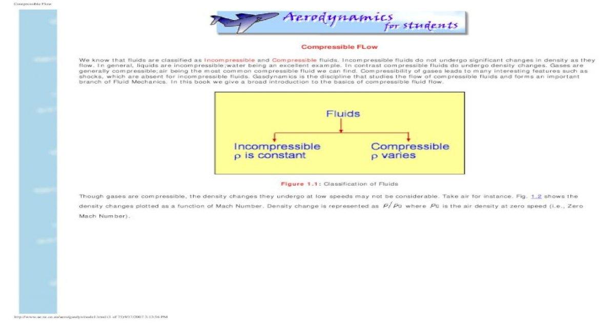 Compressible Flow - [PDF Document]