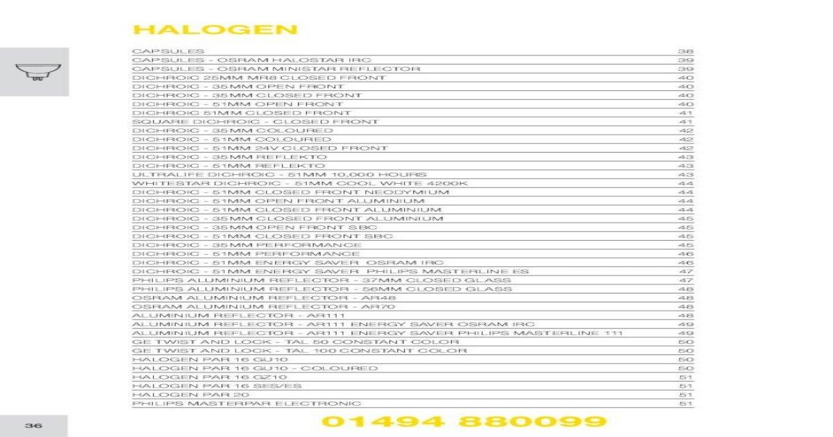 OSRAM 50210 Ministar Capsule 10w G4 Axial Reflector