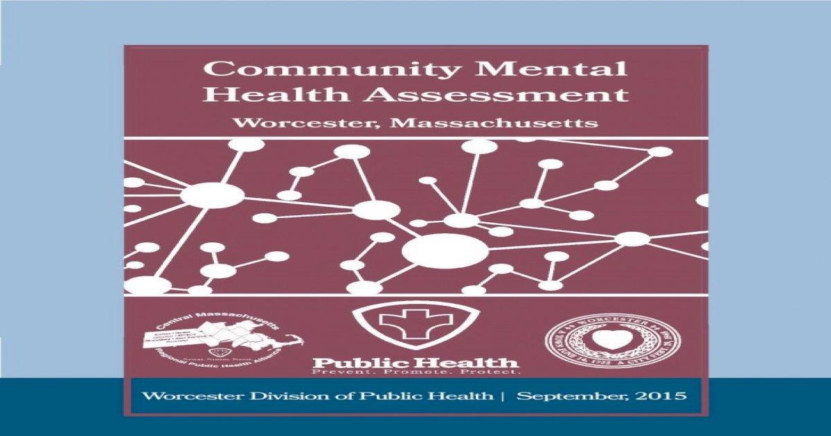 Community Mental Health Assessment .Fallon Community ...