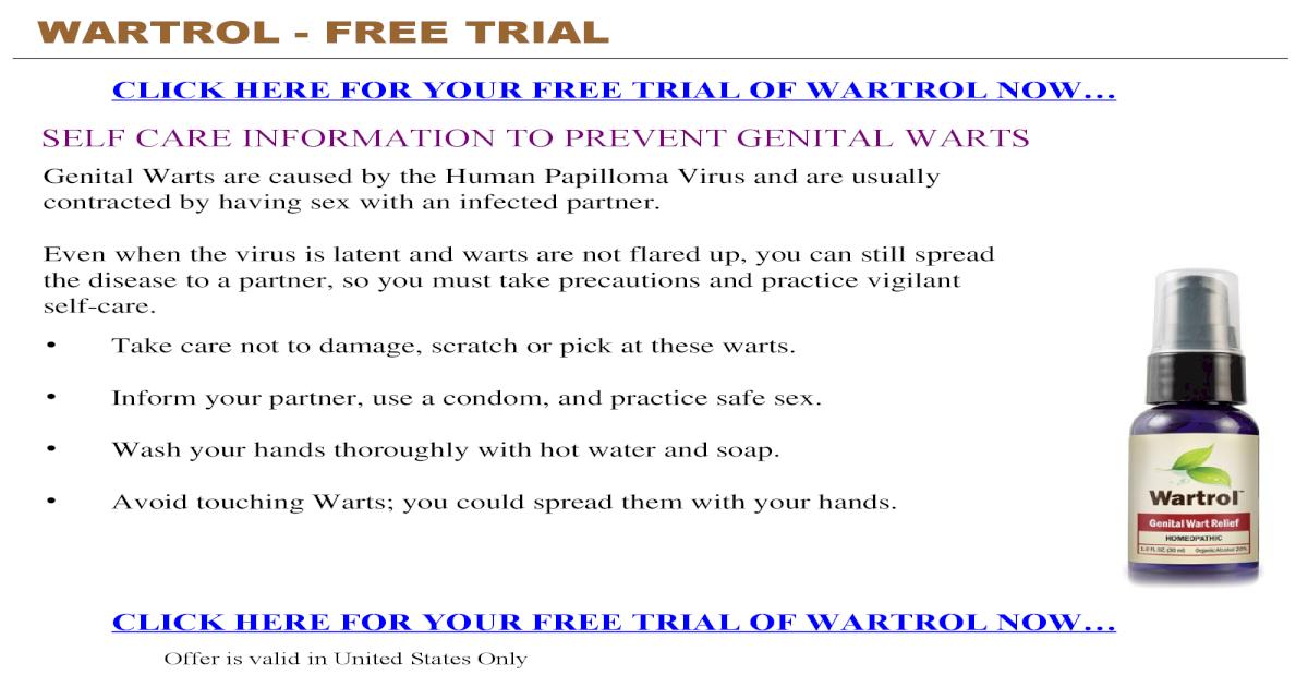 Wartrol Free Trial Pdf Document