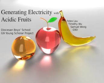 Young Scholar Project Generating Electricity Using Acidic Fruits Pptx Powerpoint