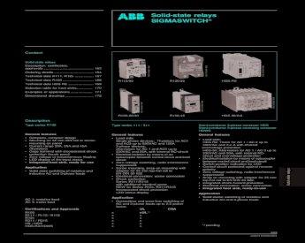 ABB Halbleiter Relais HDS R2